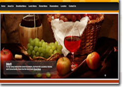 restaurant website image